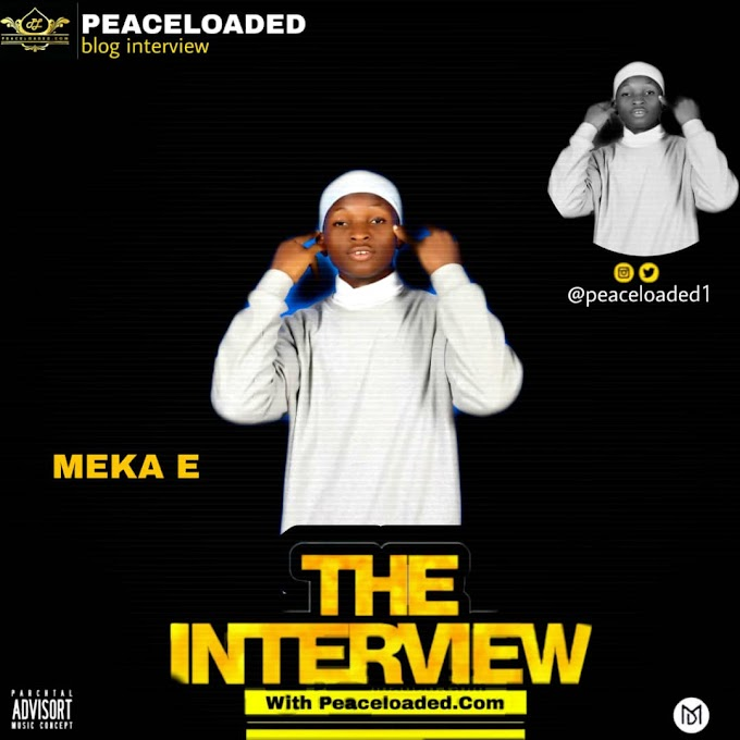 PEACELOADED BLOG INTERVIEW WITH MEKA E