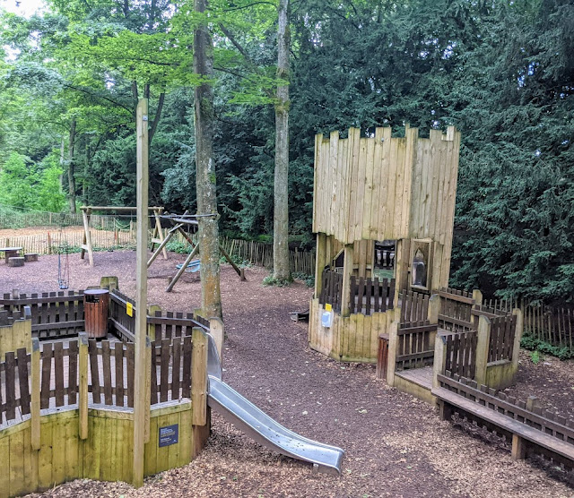 The Best Adventure Playground in the Lake District (Lowther Castle) - toddler area