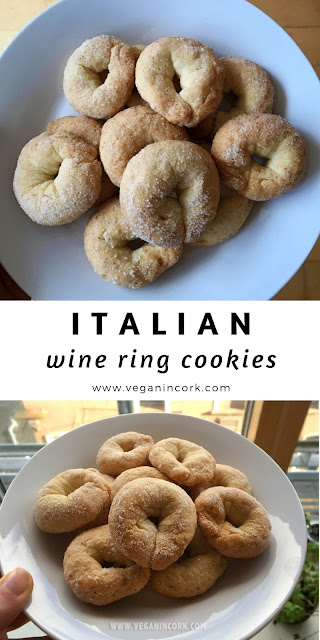 Italian wine ring cookies recipe