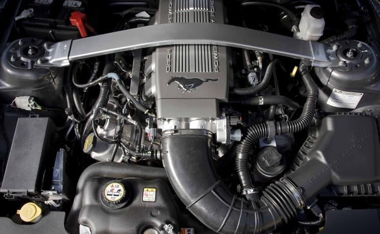 2010 Ford Mustang V6 Horsepower
