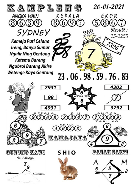 Kampleng SDY Rabu 20 Januari 2021
