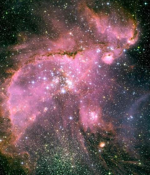O que a NASA fotografou no seu aniversário
