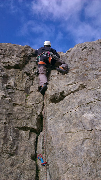 Canoes Mountains & Caves Two Days In Northern Fells Lead Climbing Wander