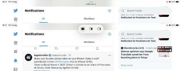 How to use iPadOS, iPhoneOS iOS 15 new awindow controls