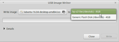 Membuat Bootable Flashdisk di Linux Mint