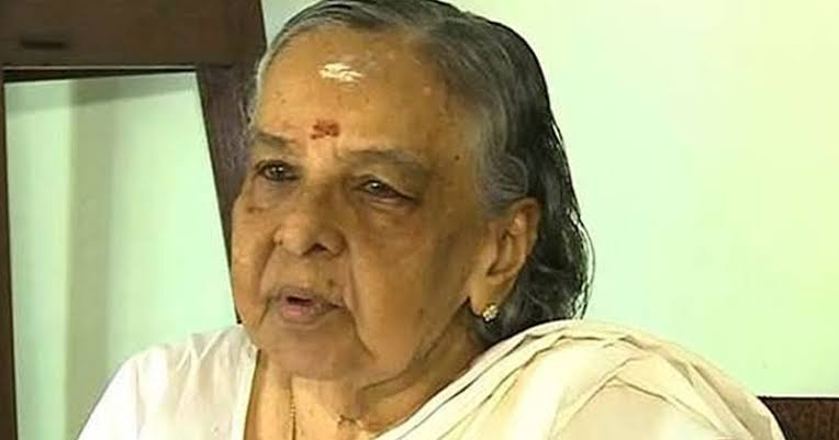 Former Kerala Minister & Congress leader M Kamalam passes away at 94
