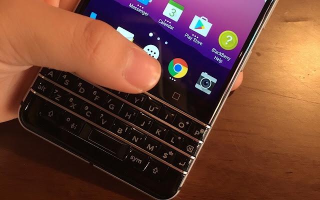 BlackBerry Mercury Gunakan Keyboard QWeRTY