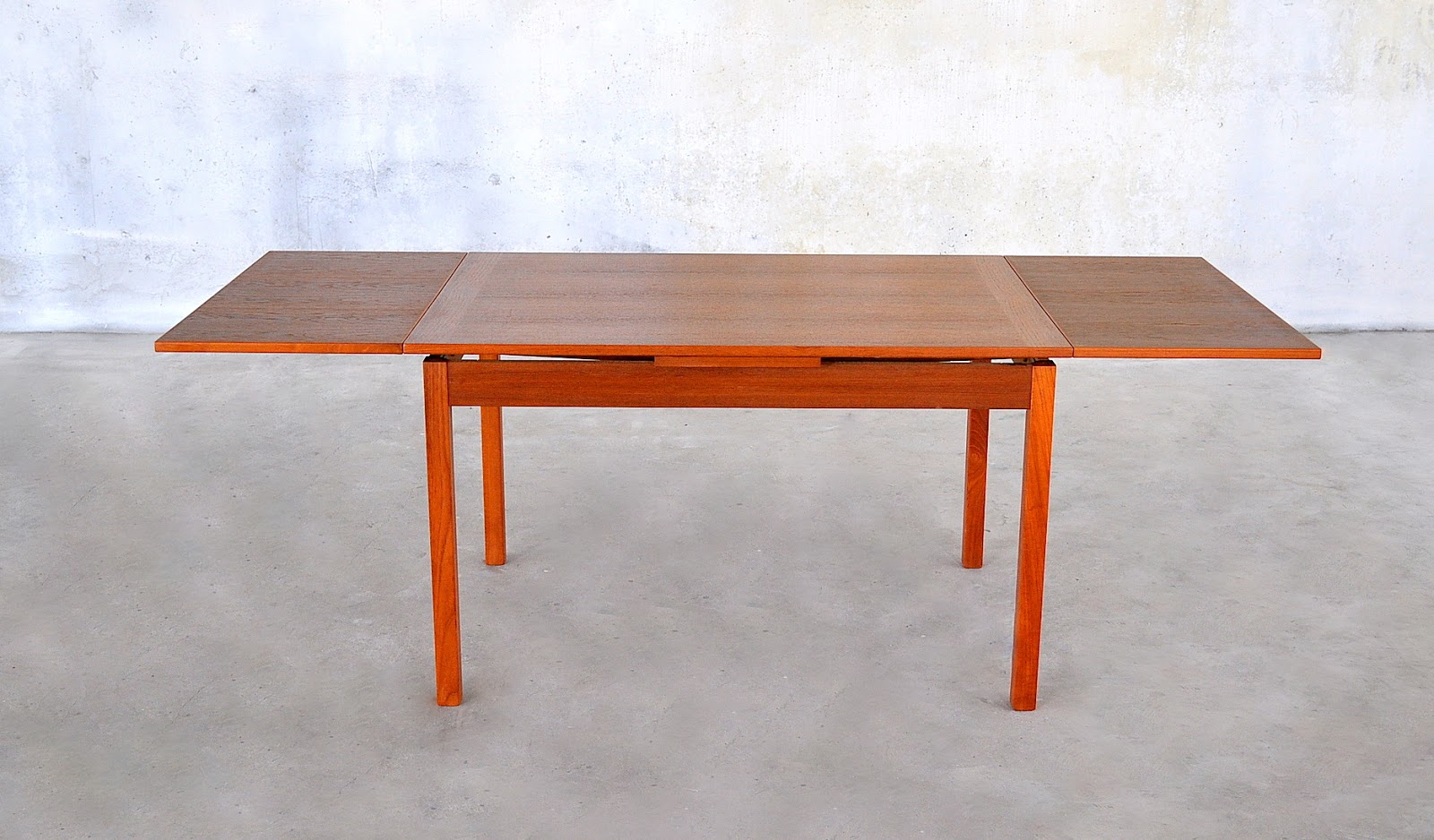 Modern Expandable Dining Table Select Modern Danish Modern Teak Expandable Dining Room Table
