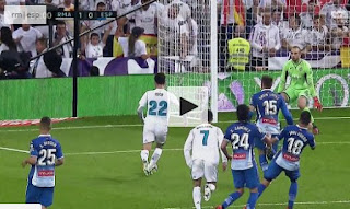 Real Madrid Kalahkan Espanyol 2-0