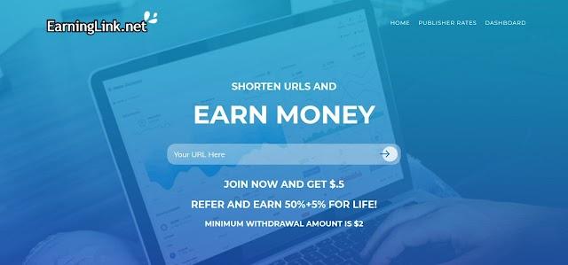 EarningLink.net Review: Trusted URL Shortener Website