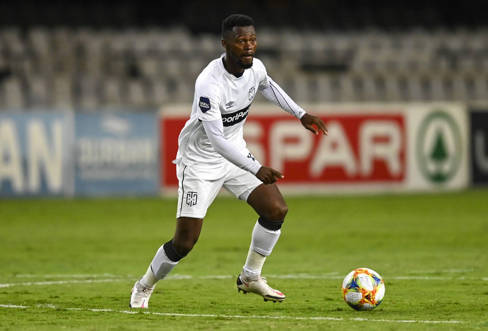 Cape Town City's midfield anchor Thato Mokeke