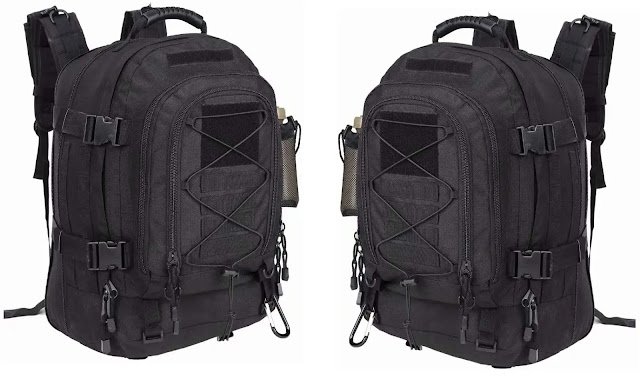 3- PANS Military Expandable Waterproof-Black Multicam