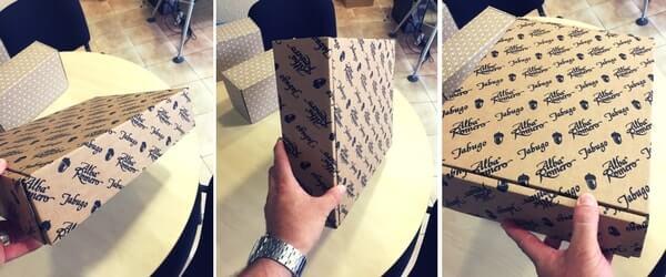 cajas para lotes de navidad inpresion flexografia