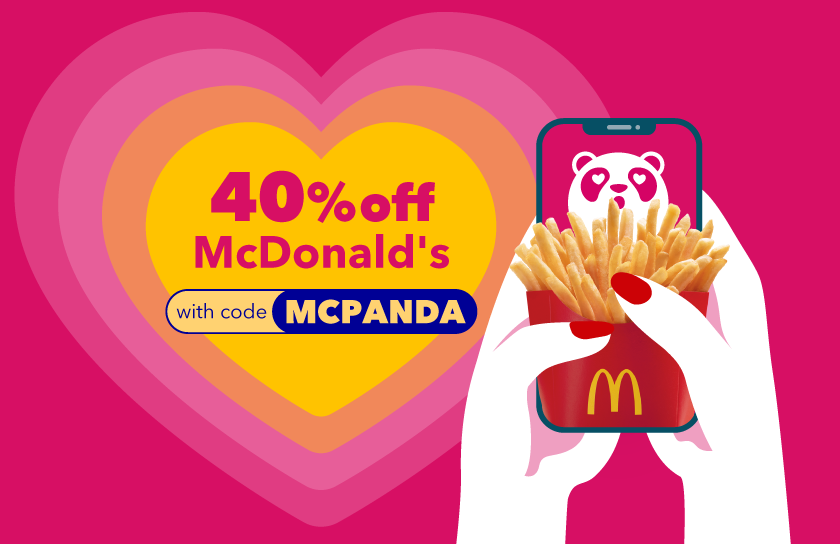 You Still Can Get Your McD Fix with foodpanda