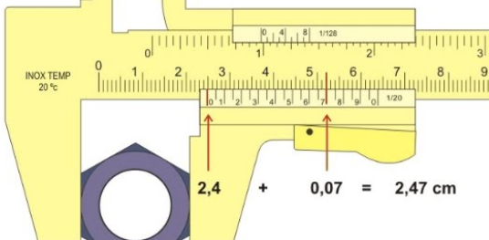 Jangka sorong sanggup digunakan dengan gampang untuk menghitung benda dalam jangka panjang Cara Menggunakan Jangka Sorong dan Perhitungan-nya