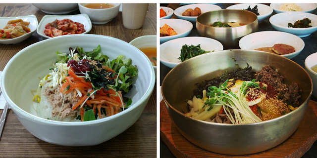 bibimbap korea south corée du sud