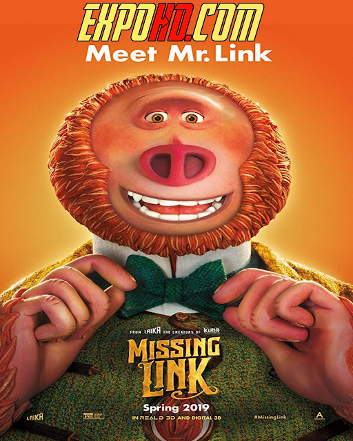 Missing Link 2019 Full Movie Download 1080p | 720p | Esub 1.3Gbs [G.Drive]