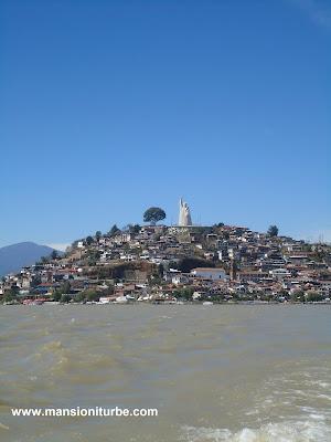 Isla de Janitzio en el Lago de Pátzcuaro