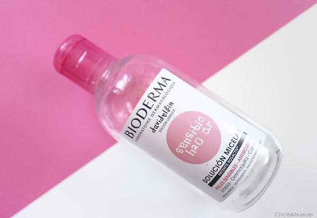agua micelar sensibio bioderma
