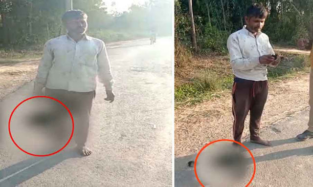 Watch: UP Indian father cuts off teen daughter head cause he disapproved of boyfriend- carries it through street!!!