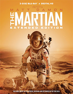 DVD & Blu-ray Release Report, The Martian: Extended Cut, Ralph Tribbey