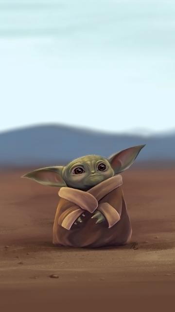Mandalorian Baby Yoda Wallpaper Iphone X