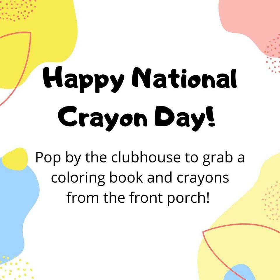 National Crayon Day Wishes Beautiful Image