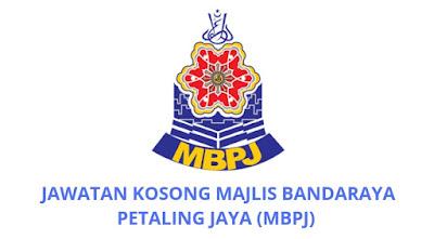 Jawatan Kosong Majlis Bandaraya Petaling Jaya 2019 (MBPJ)
