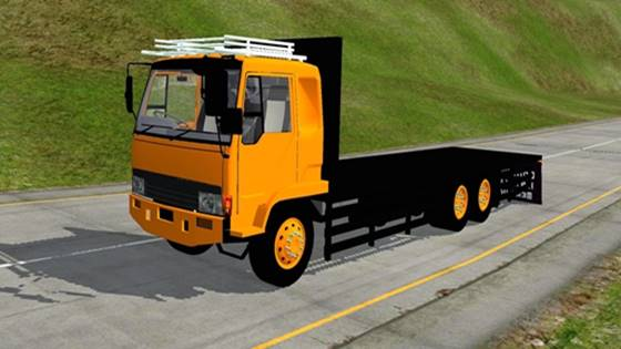 mod bussid truck fuso chassis
