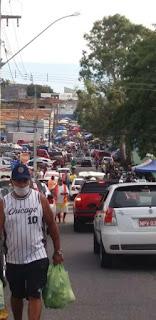 População ignora aviso de isolamento domiciliar e lota mercados públicos da Paraíba