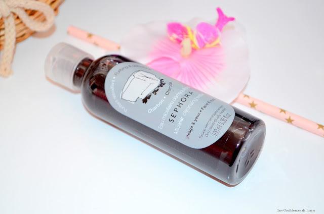 Sephora - eau micellaire - eau nettoyante - eau démaquillante - soin purifiant - soin nettoyant - Sephora - Cosmétique Sephora