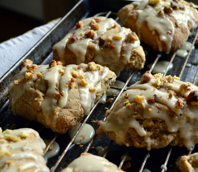 Moist and full of flavor, these scones are better than any I've tasted. If you like maple and you like scones, these are the maple scone for you!