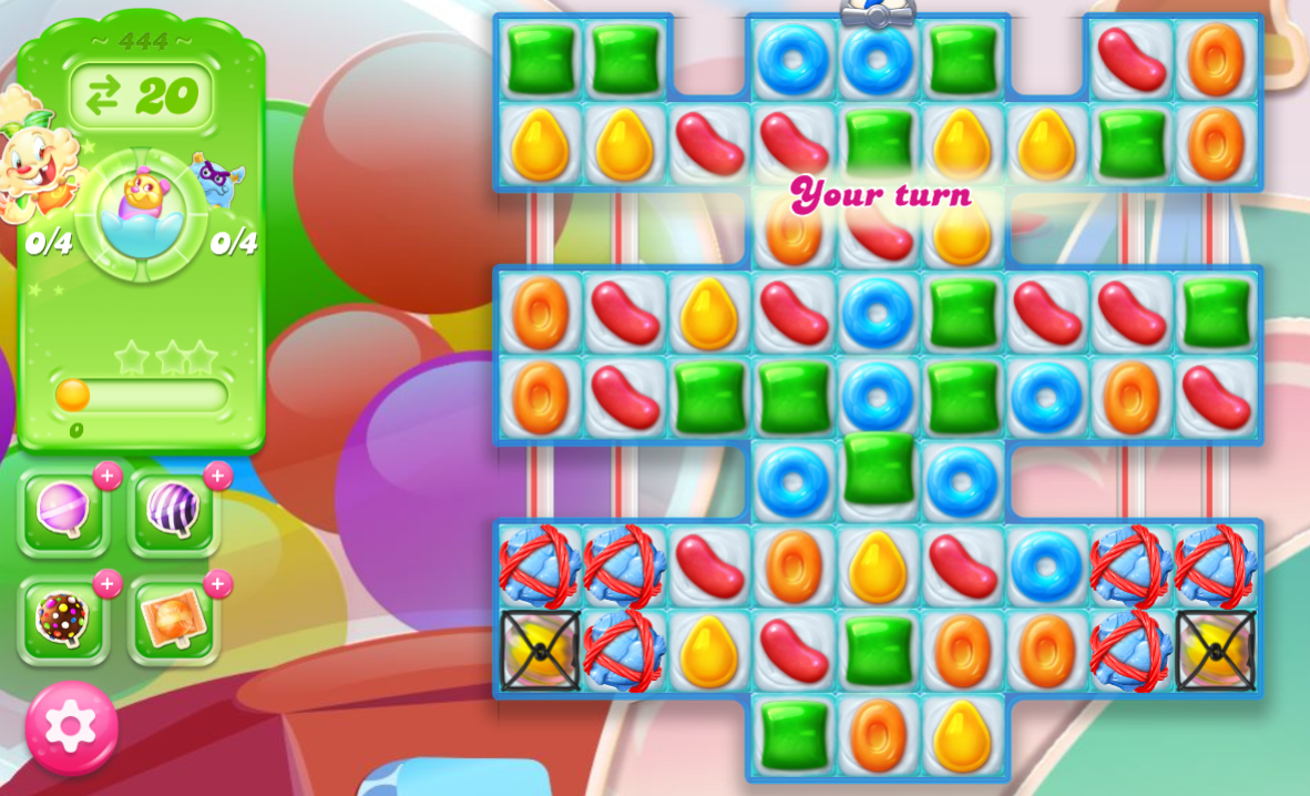 Candy Crush Jelly Saga 444