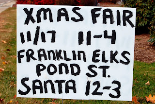 Christmas Fair at the Elks Lodge