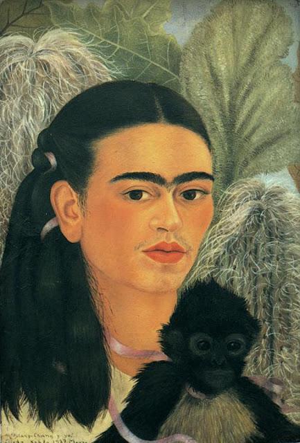 Фрида Кало - Фуланг-Чанг и я. 1937