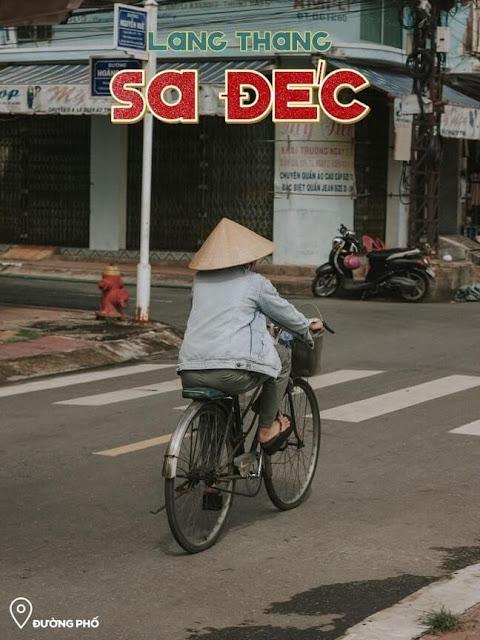 Đường Nguyễn Huệ Sa Đéc