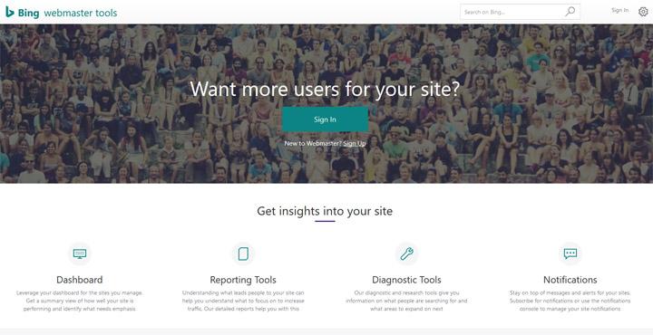 Cara Hantar atau Submit URL ke Bing Webmaster Tools