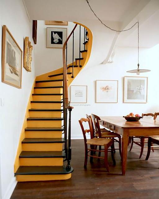 idée décoration originale pour refaire son escalier