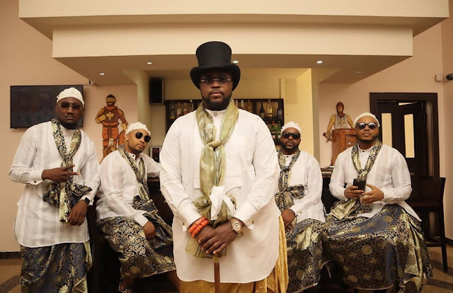 Photos : Davido's Older Brother, Adewale gets Married