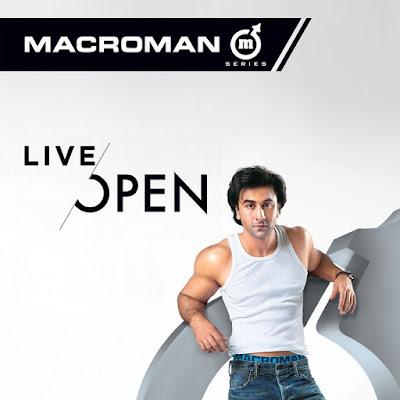 Macroman Ad