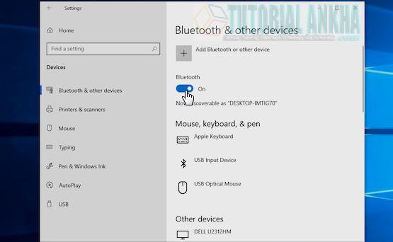 Mentransfer Data Dari PC atau Laptop ke Ponsel Android dengan Bluetooth