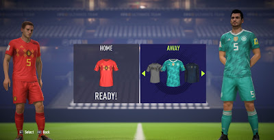 FIFA 18 World Cup 2018 Russia Kits by Nick_BlueLion