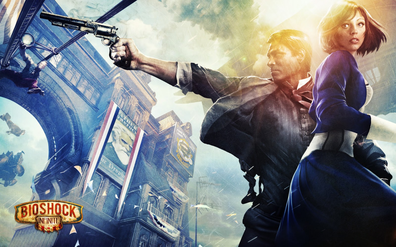 Bioshock Infinite 2013 Game HD Wallpapers HQ Wallpapers - Free Wallpapers Free HQ Wallpaper - HD ...