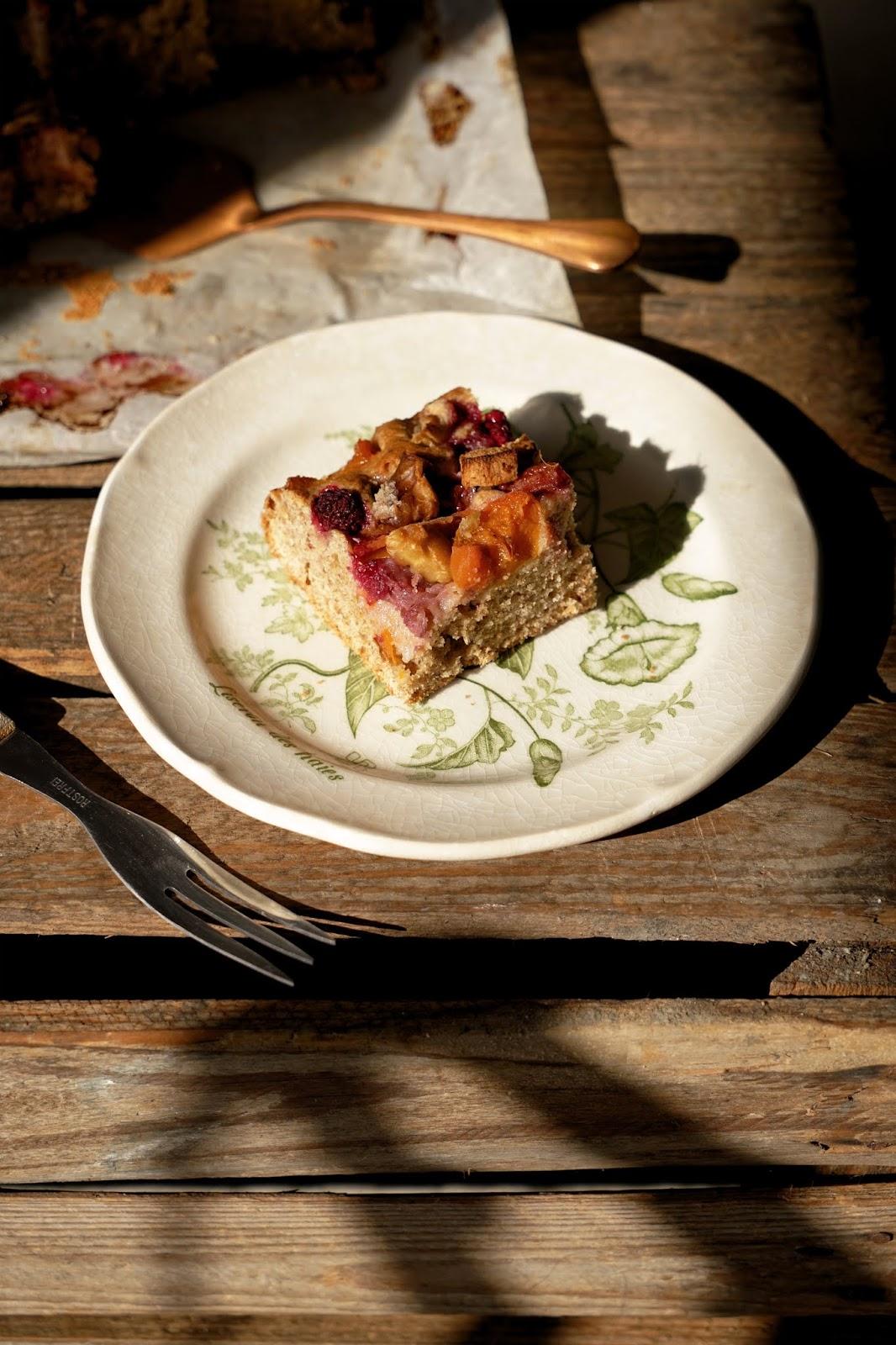 Ciasto ucierane z mąki pełnoziarnistej