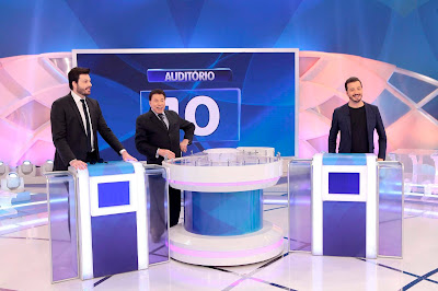 Danilo, Silvio e Cortez (Crédito: Lourival Ribeiro/SBT)