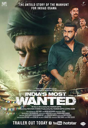 Indias Most Wanted 2019 Full 300Mb 480p Movie Download HDRip Hindi Bolly4ufree.in