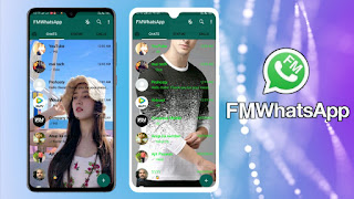 How To Set Whatsapp Home Screen Your Photo || Download Fm Whatsapp 8.12 Version