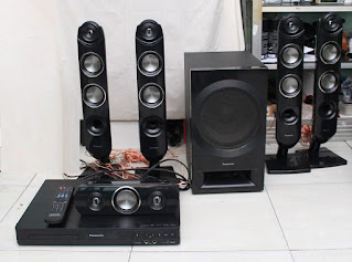 HOME THEATRE PANASONIC SC-XH333 bekas