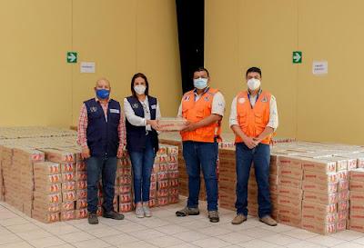 Cervecería Centro Americana apoya a damnificados por ETA