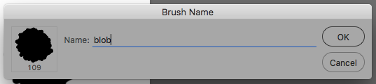 New custom Photoshop brush